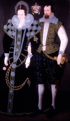Sir Reginald and Lady Mohun. Sir Reginald Mohun, born 1564 and 1st Baronet (c 1603 - c 1639) was an English politician who sat in the House of Commons in 1625 and 1626. Philip Mould, London collection.