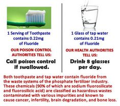 Do you know what's in your tap water? Here's a few other mind-blowing tidbits about fluoride and your intestinal tract.