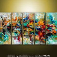 Abstract Art (Etsy)    ....Check this out:  http://artcaffeine.imobileappsys.com LOVE!!!!