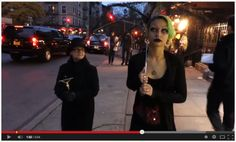 Paradox walking in 10 Hours where people walk up to her like this nun, a priest and other moronic catcalls.