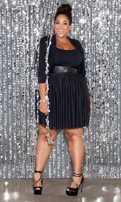 Full figured Cocktail dresses and Trendy plus size on Pinterest