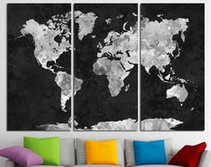 Scratch map world map poster urban outfitters scratch off map world map canvas art world map canvas map canvas world map wall art map on canvas world map print world map poster world map travel map gumiabroncs Gallery