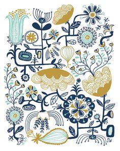 Flower Machine #illustration | Sarah Walsh