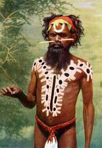 Aboriginal Oruncha man, taken from the book Peoples of the World, Australia, photograph by Walter Spencer and Francis Gillen. Aboriginal History, Aboriginal Culture, Aboriginal People, Aboriginal Art, Australian Tribes, Australian People, We Are The World, People Of The World, Australian Aboriginals