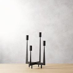 arya taper candle holder | CB2