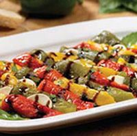 Marinated peppers from an Olive Garden recipe. Next time I will use big peppers rather than the mini sweet ones. Marinated Peppers Recipe, Grilled Peppers, Roasted Peppers, Side Dish Recipes, Vegetable Recipes, Marinated Vegetables, Olive Garden Recipes, Grilled Bread, Copy Cats