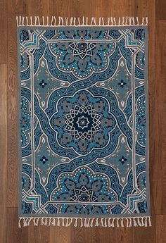Mandala rug,turquoise area rug,4x6 area rugs,royal blue rug,5x8 area rugs,affordable area rugs,oriental rugs for sale,FREE SHIPPING! by Carpetism on Etsy https://www.etsy.com/ca/listing/228831918/mandala-rugturquoise-area-rug4x6-area