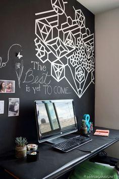Nuestra pared pizarrón en la oficina | Casa Haus