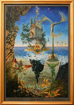 """Patrick Woodroffe. """"Denmark - Fantasmus."""" From his latest book of works """"Green Art."""""""