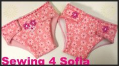 Dress that Dolly !! free nappy pattern Sewing 4 Sofia