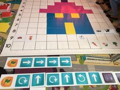 Pixel Art, Preschool, Projects To Try, Classroom, Games, Math, Kids, Labyrinths, Crafts For Kids