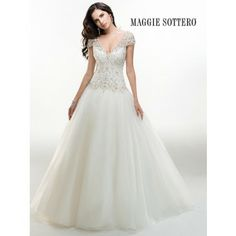 Maggie Sottero Dawson 4MT921 - [Maggie Sottero Dawson] -  Buy a Maggie Sottero Wedding Dress from Bridal Closet in Draper, Utah