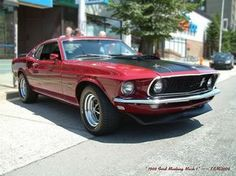 1969 Ford Mustang Mach 1 by kenmojr, via Flickr