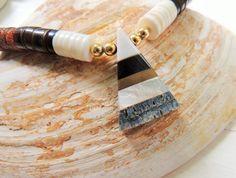 Vintage Zuni Heishi Bead Necklace Native by unconventionalJ, $89.00