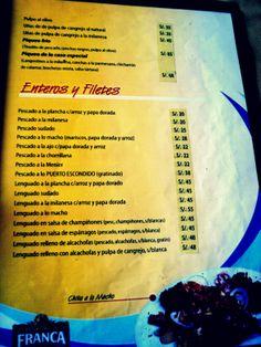 """Restaurante """"El Puerto Escondido""""."""