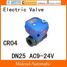 """(29.39$)  Know more - http://aiqmd.worlditems.win/all/product.php?id=1000001483255 - """"CWX-25S Stainless steel Motorized Ball Valve 1"""""""" DN25 Water control Angle valve AC9-24V 2 way wires CR-04"""""""