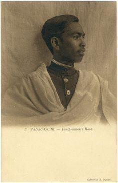 Jeune fonctionnaire hova (Madagascar)
