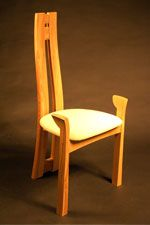 the sculptured chair by Philip Koomen Furniture