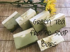 You searched for whipped soap Green Tea Soap, Matcha Green Tea Powder, Peppermint Soap, Soap Melt And Pour, Soap Base, Frappe, Soap Molds, Soap Recipes, Home Made Soap