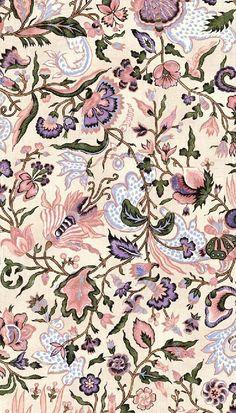 42 Ideas Flowers Wallpaper Backgrounds Fabric Patterns For 2019 Flower Wallpaper, Pattern Wallpaper, Wallpaper Backgrounds, Textile Prints, Textile Patterns, Print Patterns, Batik Pattern, Pattern Art, Motifs Art Nouveau