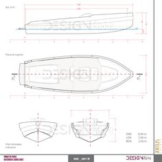 Artus yacht _ technical drawing