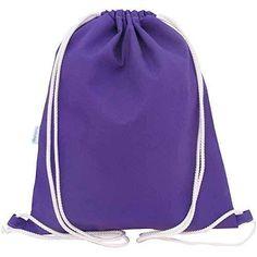 26c109d346 Purple Swimming Bag Drawstring Backpack PE Bag Boys Girls Swimming Kit