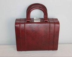 Vintage French Mid Century Travel Case  Vintage by Decofanatique