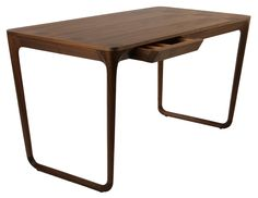 Replica Noe Duchaufour-Lawrance Sunday Morning Ceccotti Writing Desk in solid American walnut Table Desk, Wood Table, Table Furniture, Office Furniture, Desk Lamp, Furniture Styles, Modern Furniture, Furniture Design, Contemporary Office Desk