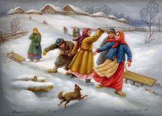Федоскинская живопись