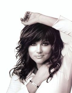 Tiffani Thiessen. I love her hair