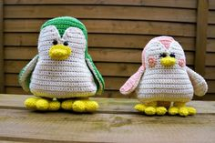 If you are looking for a crochet pattern for either a bird or a penguin - this is it. It can be both depending on the eyes looking at it. Play with colors