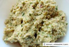 Zöld olívakrém Krispie Treats, Rice Krispies, Pesto, Grains, Desserts, Recipes, Foods, Tailgate Desserts, Food Food