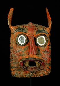 Indigo Arts offers a collection of fine antique and contemporary dance masks from Mexico and Guatemala. Aztec Mask, Mexican Mask, Tribal Costume, Medicine Wheel, Animal Masks, Paul Gauguin, Indigenous Art, Aboriginal Art, Cool Paintings