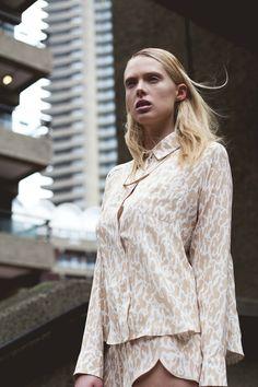 concrete collar vconcrete collar Julie Eilenberger editorial at The Barbican for Bricks Magazine #architecture #fashion #architectureandfashion #ss14 #thebarbican #brutalistarchitecture
