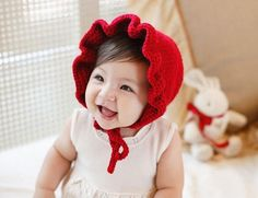 Newborn Handmade Crochet Flowers Hats Baby Wool Hat Kids Winter Caps Fashion Girls Knit Hair Accessories Toddler Bonnet Photography Hats From Babymemories, $4.35 | Dhgate.Com