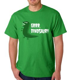 Grrr, Dinosaur! (Peppa Pig) » Silly Boy T-shirts