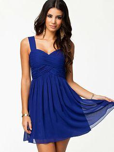 Sunny Dress - Oneness - Cobalt Blue - Juhlamekot - Vaatteet - Nainen - Nelly.com