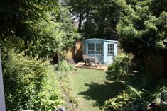 York Alternative Bed and Breakfast, North Yorkshire. You are welcome to sit in our garden and use the summerhouse http://www.organicholidays.co.uk/at/1631.htm