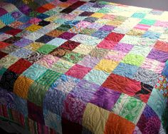 Simply Charming Twin/Full Quilt. $395.00, via Etsy.