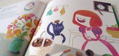 La cocinera del rey by Sandra de la Prada, via Behance