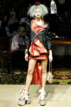 Vivienne Westwood Spring 2012 Ready-to-Wear Collection Slideshow on Style.com
