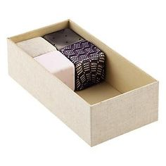 StoxBox™ Hosiery Organizer | Container Store  Perfect little boxes for hose!! Love this idea!