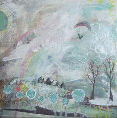 Orignal Painting Before the Rain Original Art by SiobhanJordan, Irish Art, Painting & Drawing, Original Art, Illustration Art, Rain, Paintings, The Originals, Drawings, Artist