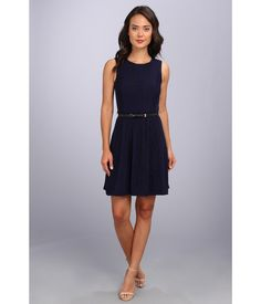 You'll be the epitome of grace and class in this Jessica Simpson™ fit and flare dress. . Sleeveles...