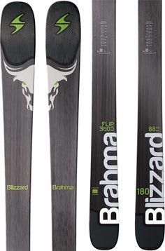 Blizzard Brahma Skis, 173cm, Anthracite, Ski Only, 2017