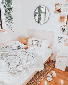 Cute Bedroom Decor, Bedroom Decor For Teen Girls, Room Design Bedroom, Room Ideas Bedroom, Bedroom Inspo, Dream Bedroom, Room Ideias, Cute Room Ideas, Aesthetic Room Decor