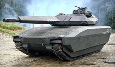 Tank furtif polonais PL-01