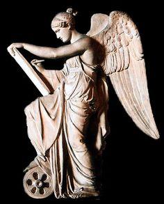 Nemesis, Diosa Griega de la venganza, solidaridad, equilibrio, justicia retributiva y fortuna.