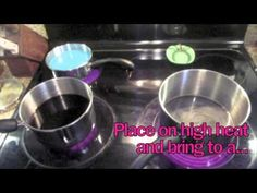 DIY: Kool-Aid Hair Dye Tutorial. I did this with red kool-aid for Fourth of July and it was really cool!