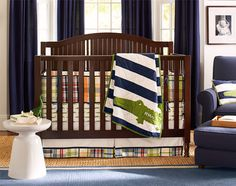 Designing Baby Room & Baby Boy Nursery Décor Ideas | Pottery Barn Kids